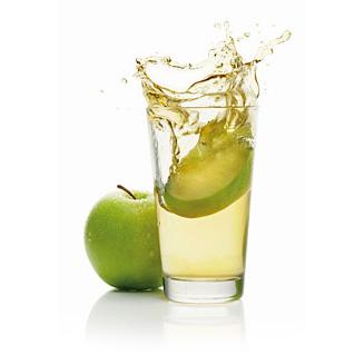 Сок зеленого яблока